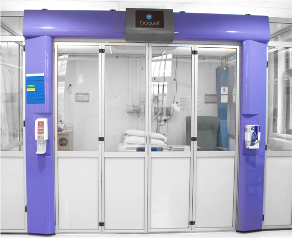 Bioquell Pod Patient Room