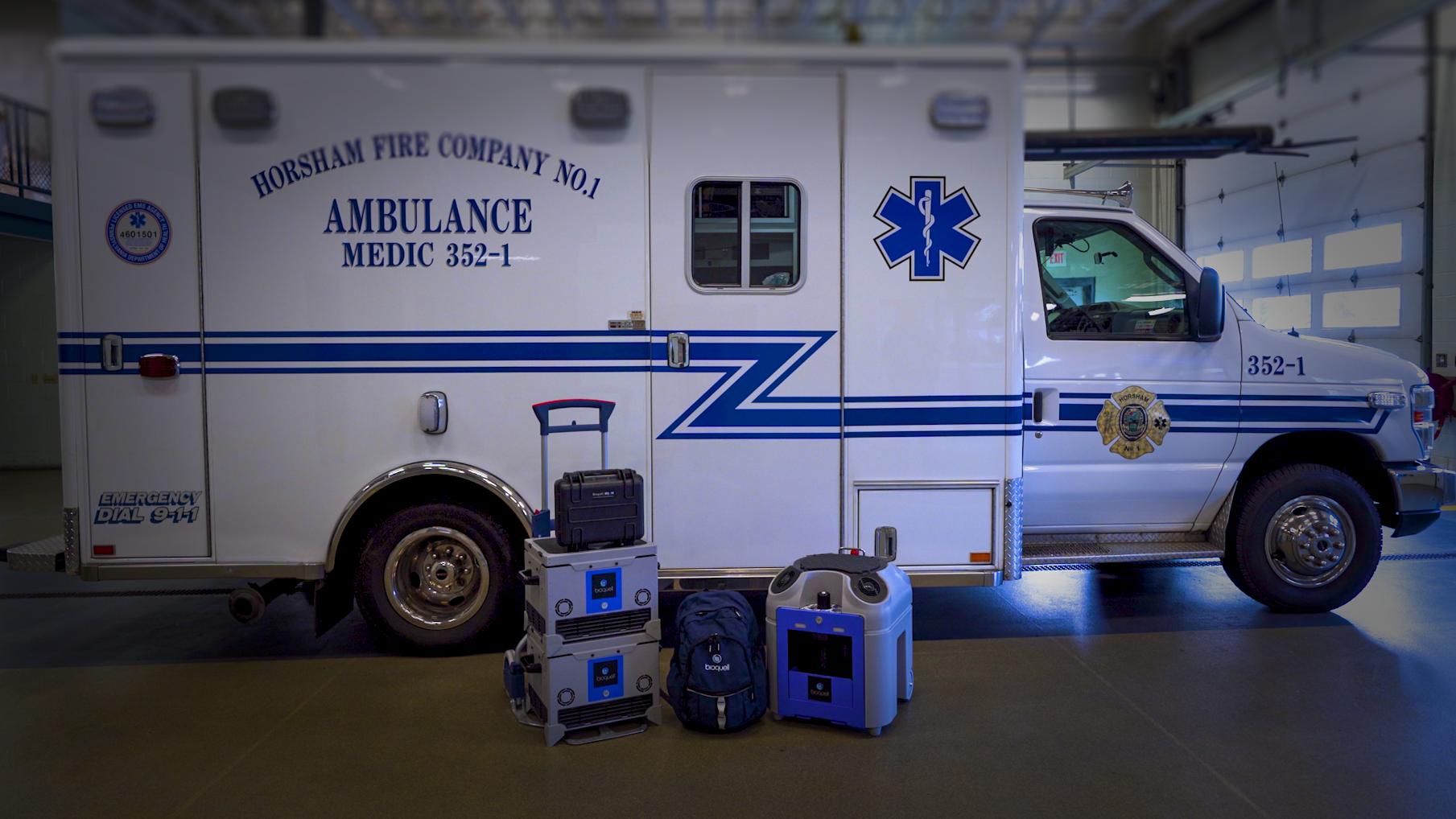 救护车消毒